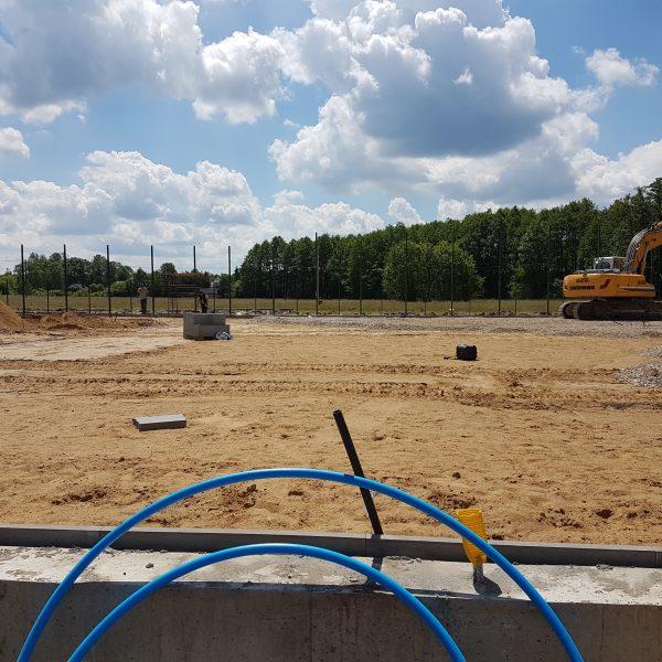 Tenis Kozerki w budowie