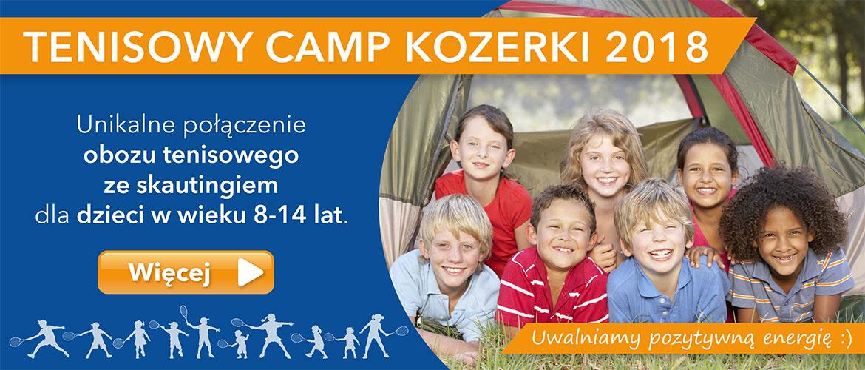 Tenisowy Camp Kozerki 2018