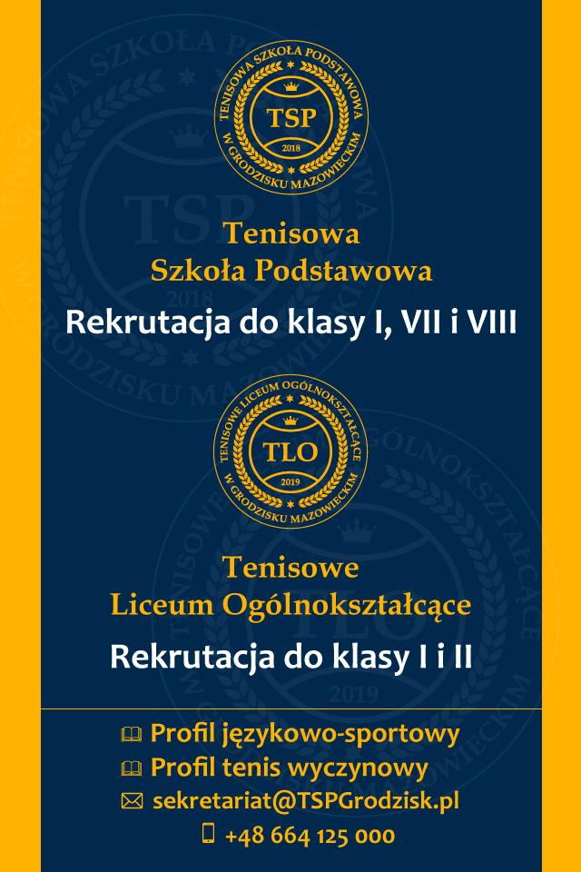Rekrutacja do Szkoły Tenisowej w Kozerkach