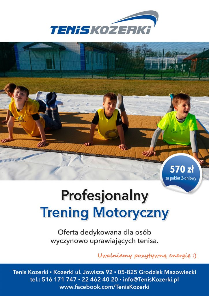 Profesjonalny Trening Motoryczny w Tenis Kozerki
