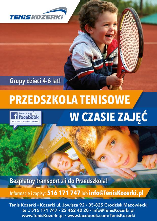 Tenisowe Przedszkole w Tenis Kozerki