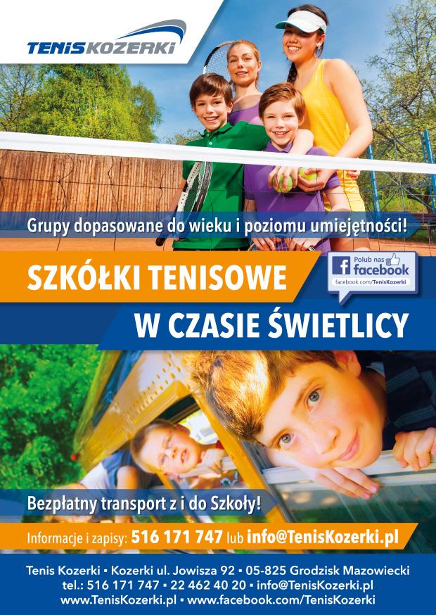 Szkółki Tenisowe w Tenis Kozerki